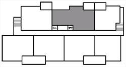 Building Map - 2 Bedroom, Suite B